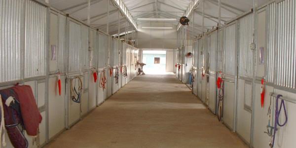 Main barn aisleway